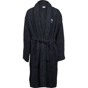 Bademantel - Bath robe - Total Eclipse - KnowledgeCotton Apparel