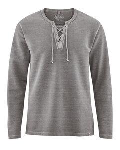 HempAge Herren Piqué-Langarm-Shirt Bio-Baumwolle/Hanf - HempAge