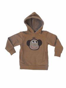 Pullover,Sweater, kapuzenpullover,  'Affe' , 100 % Baumwolle (kbA) - PAT & PATTY