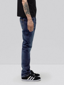 Dude Dan Dark Deep Worn - Nudie Jeans