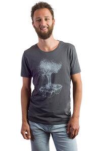 Fairwear Modal Men Anthrazite Birds Island - Life-Tree