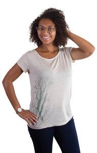 Fairwear Modal Shirt Women Heather Beige Esche - Life-Tree