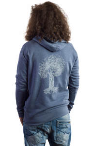 Fairwear Organic Sweater Vereinigung Men Denimblau - Life-Tree