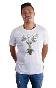 Fairwear Tencel Men White Weltenbaum - Life-Tree
