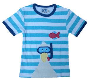 """Kurzarmshirt, t-shirt  """"Möwe"""" ,100 % Baumwolle kbA - PAT & PATTY"""