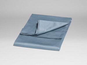 Kissenbezug Baumwollsatin Faded Blue - Yumeko