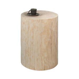 Baumstamm Beistelltisch Säule Fichte natur Holzblock Holzklotz - GreenHaus