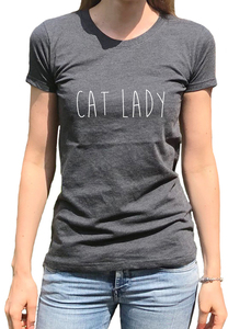 Recycling CAT LADY Damenshirt - WarglBlarg!