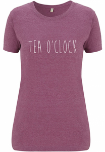 Recycling TEA O'CLOCK Damenshirt - WarglBlarg!