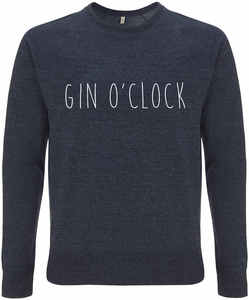 Recycling GIN O'CLOCK unisex Pullover - WarglBlarg!