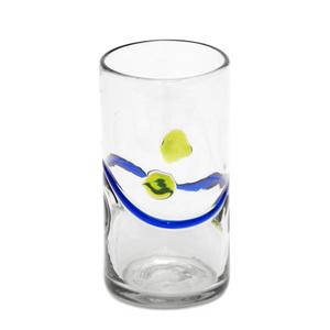 Longdrinkglas aus Recyclingglas, mundgeblasen - GLOBO