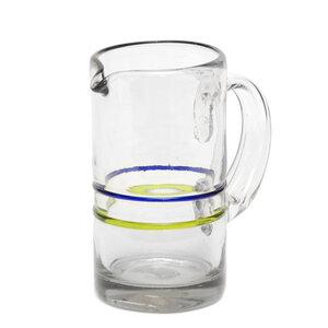 Glas-Krug aus Recyclingglas, mundgeblasen - GLOBO Fair Trade