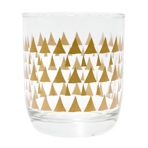 Trinkglas Triangles, 6 Stk. - TAK design