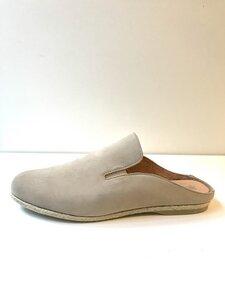 Werbio Nubuk Pantolette sand - Werner Schuhe
