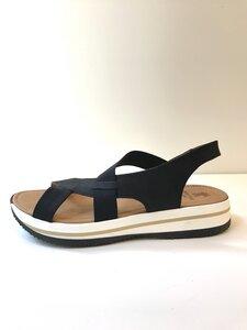sportliche Nubuk Sandale 817 - Werner Schuhe