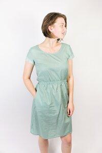 Bio Kleid 'Somrig' Punkte grün - Frija Omina