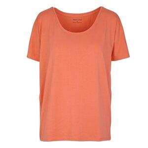 ROSA Short Sleeve T-Shirt abricot - Frieda Sand