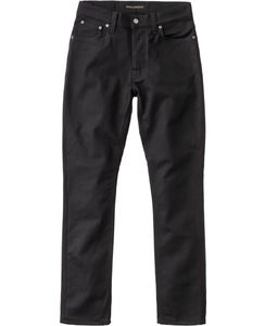 Dude Dan Dry Everblack - Nudie Jeans