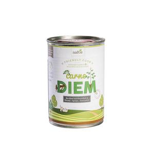 Bio-Rind CARNE DIEM 400g fleischreduziertes Hunde-Nassfutter - naftie