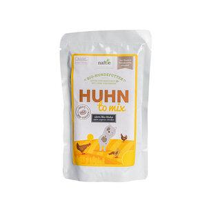 Bio-Huhn HUHN TO MIX 150g Hunde-Nassfutter aus 100% Fleisch - naftie