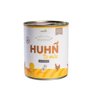 Bio-Huhn HUHN TO MIX 800g Hunde-Nassfutter aus 100% Fleisch - naftie