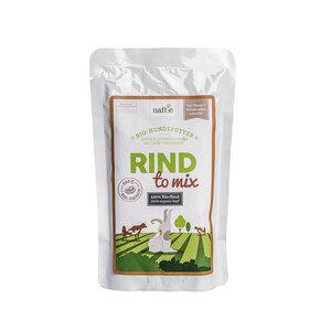 Bio-Rind RIND TO MIX 150g Hunde-Nassfutter aus 100% Fleisch - naftie