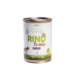 Bio-Rind RIND TO MIX 400g Hunde-Nassfutter aus 100% Fleisch - naftie