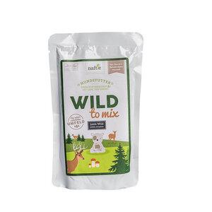 WILD TO MIX 150g Hunde-Nassfutter aus 100% natürlichem Reh-Fleisch - naftie