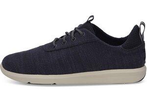 Navy Slub Cabrillo Sneaker - Toms