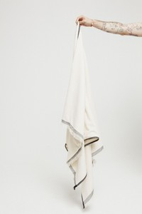 Pareo Towel - Ecru - thinking mu