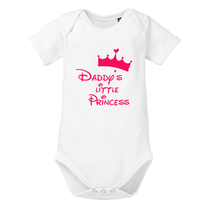 Daddys little Princess Baby-Body Bio-Baumwolle kurzarm - little BIG Family
