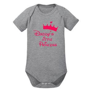 Daddys little Princess Baby-Body Bio-Baumwolle kurzarm - little BIG Family