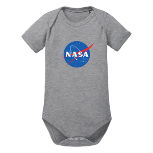 NASA - kurzarm Baby Body Bio-Baumwolle  - little BIG Family