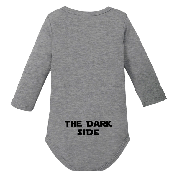 aktuelles Styling Mode an vorderster Front der Zeit Storm Pooper - The Dark Side - langarm Baby Body Strampler