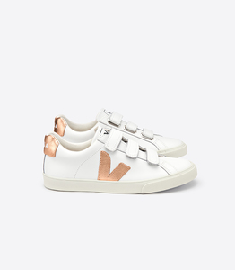 3-LOCK LEATHER - SNEAKER - EXTRA WHITE VENUS - Veja