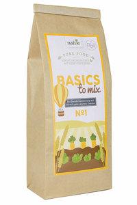 BASICS TO MIX NO 1 Premium Bio Basisfuttermischung 1kg - naftie