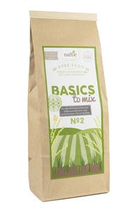 BASICS TO MIX NO 2 Premium Bio Basisfuttermischung - naftie