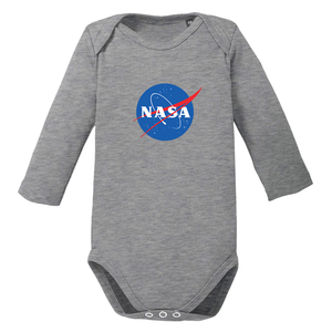 NASA - langarm Baby Body Bio-Baumwolle - little BIG Family