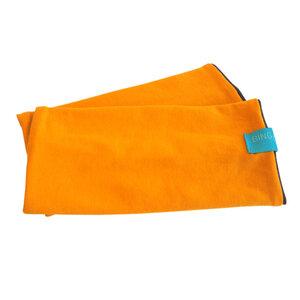 Armstulpen senfgelb/schoko - bingabonga