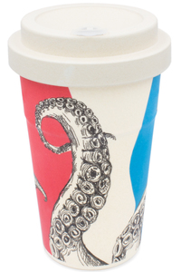 Coffee-to-go Bambus-Becher, Mehrweg Kaffeebecher (Herr Simon Ster) - heyholi