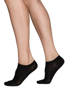 Socken - SARA PREMIUM SNEAKER SOCKS - Black - Swedish Stockings