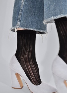 Socken - Klara Knit Socks - Black - Swedish Stockings