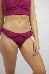 Recycling Bikinihose 'Volanti' vino - Frija Omina