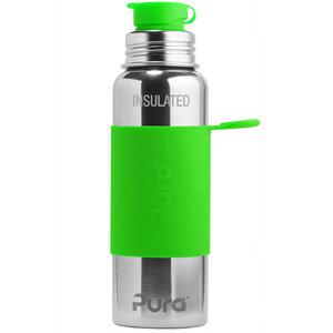 Pura Sportflasche isoliert 600ml mit Sleeve - Pura