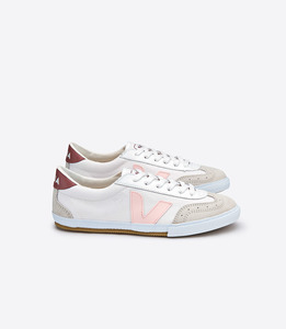 VOLLEY CANVAS - SNEAKER - WHITE PETAL DRIED PETAL - Veja