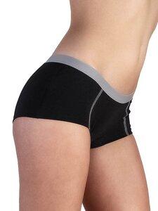 5 er Pack Damen Boyshort Bio-Baumwolle 6 Farben Slip Panty Unterhose - Albero