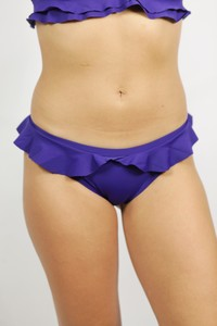 Recycling Bikinihose 'Volanti' indico - Frija Omina