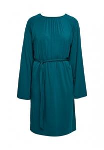 Tencel Kleid - Vella Dress - Turquoise - People Tree