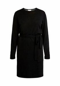 Una Knitted Dress - Black - People Tree