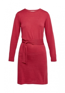 Strickkleid Merinowolle - Una Knitted Dress - Pink - People Tree
